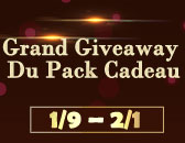 Patch 1663(Grand Giveaway Du Pack Cadeau)