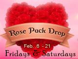 Free Rose Packs in Sky Park