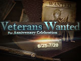 Veterans Wanted! Stay Online or Invite Friends for Free Draw!