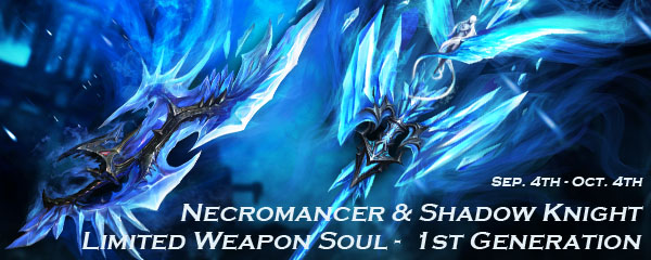 Limited Weapon Souls for Necromancers and Shadow Knights