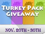 Free to Get Thanksgiving Packs