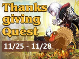 Enjoy Delicious Food in Thanksgiving Party!
