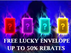 Free Lucky Envelopes Giveaway & Up to 50% EP Rebates
