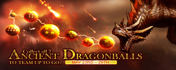 Collect 7 Dragonballs to Summon Ancient Dragon