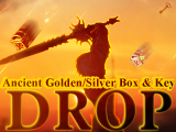 Ancient Golden and Silver Box & Key Drop!