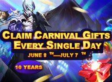 Carnival Pack Giveaway! Claim PPs,and More Everyday