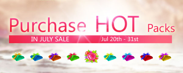 Purchase Hot Packs in July Sale!