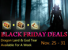 Black Friday Sale - Dragon Laird Available