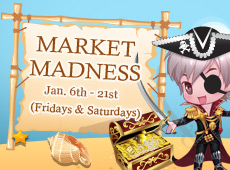 Come Make a Fortune in the Mad Market