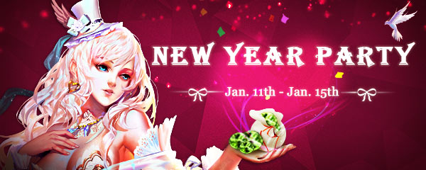 Join in New Year Party Win Limited Garments