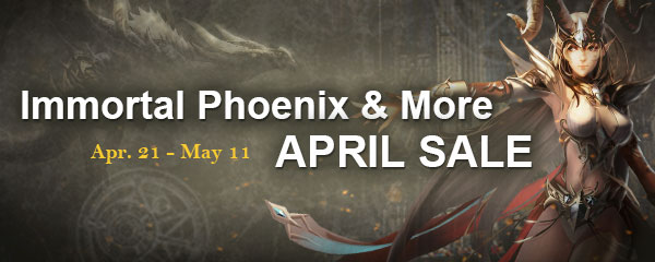 April Sale on Apr. 21st - May 11
