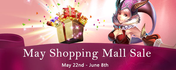 May Sale on May 22nd to June 8th