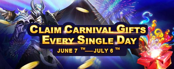 Carnival Packs Giveaway
