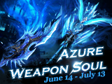 Azure Weapon Soul Available for A Month