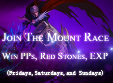 Join Mount Race, Win PPs, Thunder Juice, Super Citrine and Mo