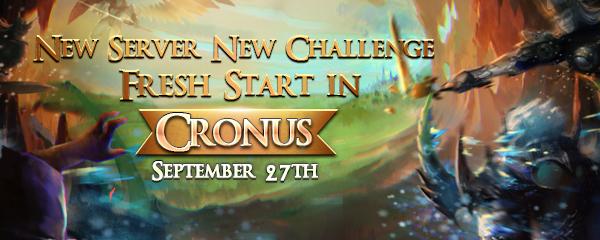Competition on New Server Cronus