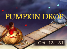 Collect PUMPKIN Letters, Swap for Candy Packs