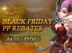 Black Friday Bonus - PP Rebates