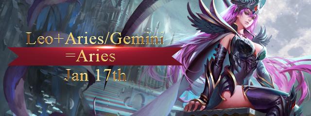Server Merge: Aries/Gemini + Leo
