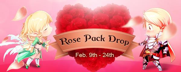 Rose Pack Drop in Sky Park