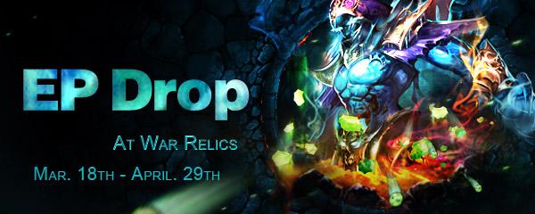 EP Drop at War Relics