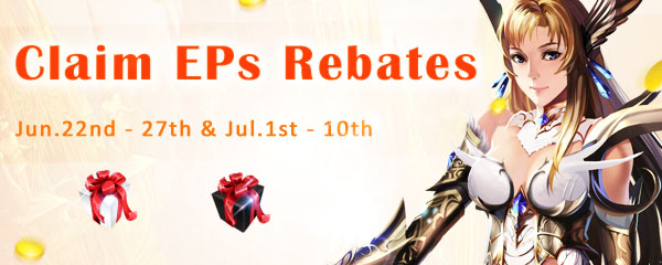 Claim EPs Rebates