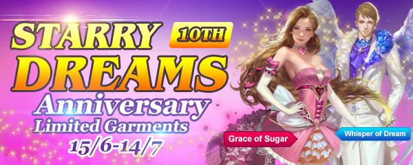Anniversary Limited Garments