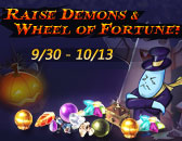 Join in Raise Demons & Wheel of Fortune on Sept. 30th!