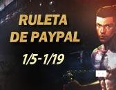 Últimos 4 Días para terminar la Ruleta de PayPal