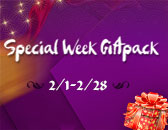 Special Week Giftpack Ready to Start, Feb.1st!