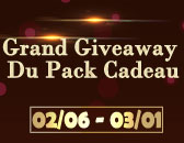 Patch 1668(Grand Giveaway Du Pack Cadeau Recommence)