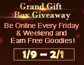 Grand Gift Box Giveaway Into 3rd Friday & Weekend!