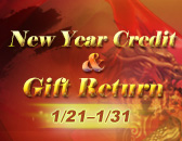 Patch 6181: New Year Credit & Gift Return, Offline Event Button Renewed & More!