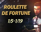 Roulette De fortune par Paypal à partir le 05 Janvier!