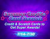 Summer Credit & Card Scratch Is Ending on July 30!