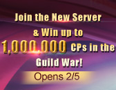 New Warlord Server Reservations Continue! 1KK CP GW Awaits!