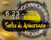 El Sorteo de Aniversario sólo hasta el Martes!