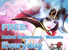 Get Your Astral Eudemons for FREE