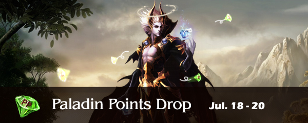 Paladin Points Drop