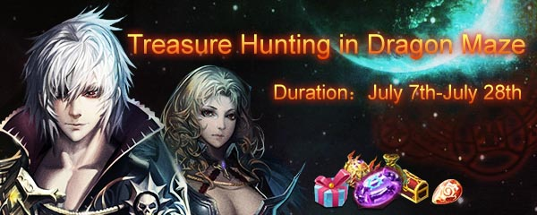 treasure hunting in dragon maze