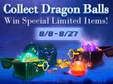 Collect Dragon Balls, Win limited Weapon Soul & Dragon Oz