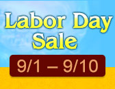 Labor Day Sale to Kick Off, Sept. 1st!