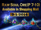 Get Raw Soul Ores to Compose Soul Stones