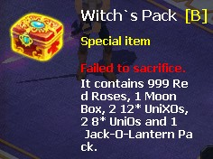 Challenge Rotten Sepulcher, Win Witch's Pack & EPs