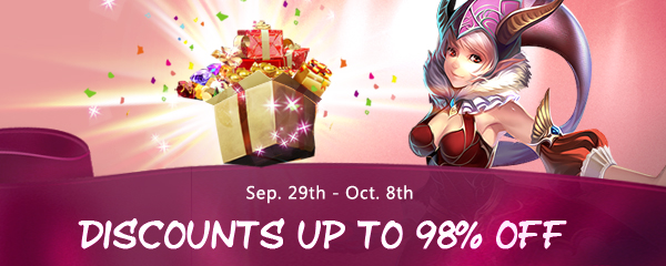 Up to 98% Off Sale for 10 Days