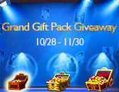 Grand Gift Pack Giveaway Kicks Off, Oct. 28th!