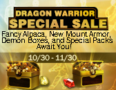 [20141124] Daily Event RECO: Dragon Warrior Special Sale
