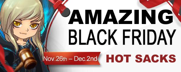 Black Friday Sale - Hot Sacks