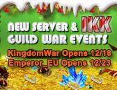 Reservation Final Countdown - Kingdom War Server Opens, Dec. 18th!