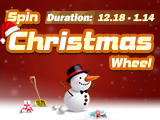 Spin Xmas Wheel, Win Fabulous Rewards!